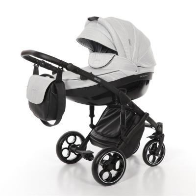 Коляска 2-в-1 Mr Sandman Mod (50% эко-кожа/серый в принт/17) коляска mr sandman prima люлька 100% эко кожа темно синий kmsp100 073407