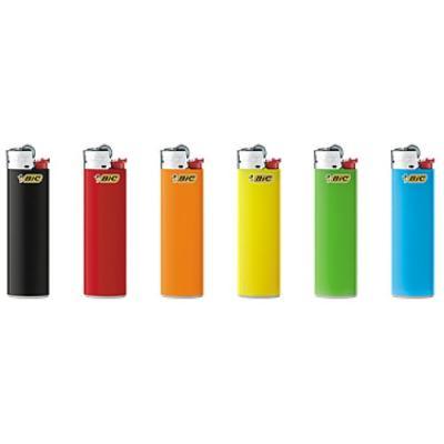BIC Зажигалка J3 Цветная 1 шт (упаковка 50шт) зажигалка bic мегалайтер д плиты