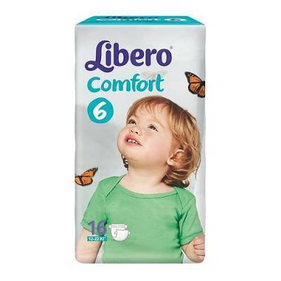 LIBERO Подгузники детские Комфортфит ЭкоТек экстра лардж 12-22кг 16шт упаковка маленькая libero подгузники детские every day миди 4 9кг 46шт упаковка экономичная