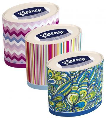 Салфетки Kleenex Декор 3-ех слойная 64 шт 9480030