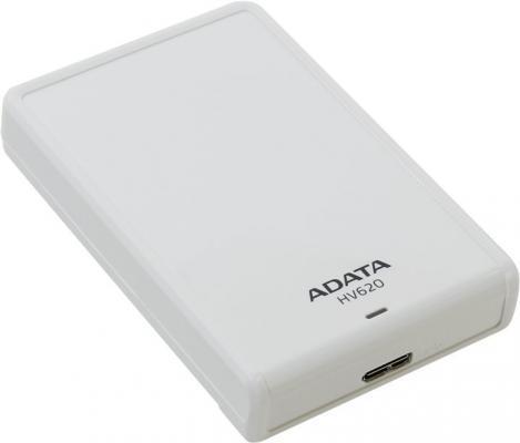 "Внешний жесткий диск 2.5"" USB3.0 2Tb A-Data HV620 AHV620-2TU3-CWH белый"