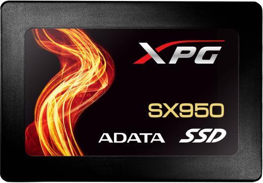 Твердотельный накопитель SSD 2.5 480Gb A-Data SX950 Read 560Mb/s Write 530Mb/s SATAIII ASX950SS-480GM-C накопитель ssd a data adata ultimate su800 512gb asu800ss 512gt c