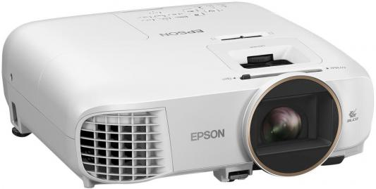 Проектор Epson EH-TW5600 1920х1080 2500 люмен 35000:1 белый V11H851040 awo replacement projector lamp elplp85 v13h010l85 with housing for epson projectors eh tw6600 eh tw6600w powerlite hc3000 hc3500