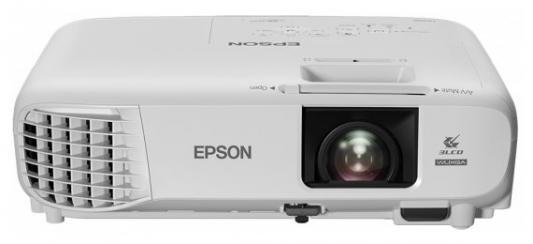 Проектор Epson EB-U05 1920x1200 3400 люмен 15000:1 белый недорго, оригинальная цена