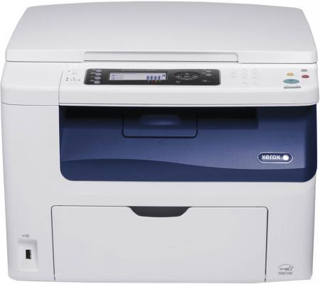 МФУ Xerox WorkCentre 6025BI цветное A4 12/10ppm 2400x1200dpi Wi-Fi USB мфу фабрика печати epson l3050 цветное a4 33 15ppm 2400x1200dpi usb wi fi c11cf46405