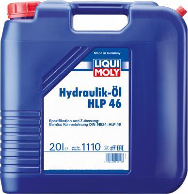 Минеральное гидравлическое масло LiquiMoly Hydraulikoil HLP 46 20 л 1110 гидравлическое масло total fluide da 1л