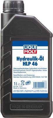 Минеральное гидравлическое масло LiquiMoly Hydraulikoil HLP 46 1 л 1117 гидравлическое масло total fluide da 1л