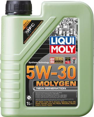 НС-синтетическое моторное масло LiquiMoly Molygen New Generation 5W30 1 л 9041