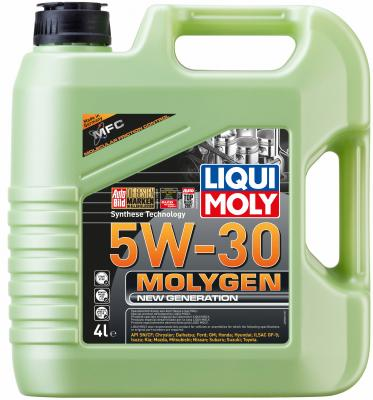 НС-синтетическое моторное масло LiquiMoly Molygen New Generation 5W30 4 л 9042