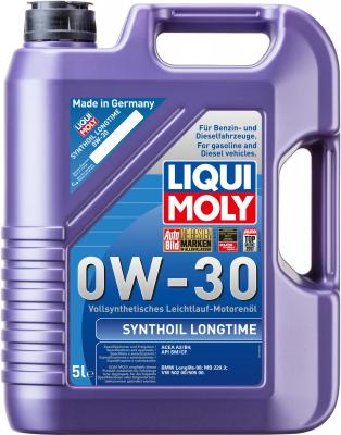 Cинтетическое моторное масло LiquiMoly Synthoil Longtime 0W30 5 л 8977