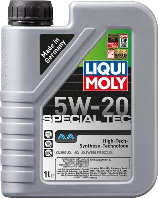 НС-синтетическое моторное масло LiquiMoly Special Tec AA 5W20 1 л 7620