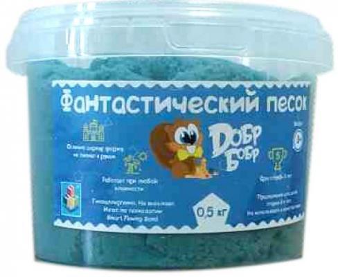 1toy Фантастический песок, Синий 0,5 кг цена