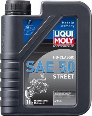 Минеральное моторное масло LiquiMoly Motorbike HD-Classic Street 50 1 л 1572