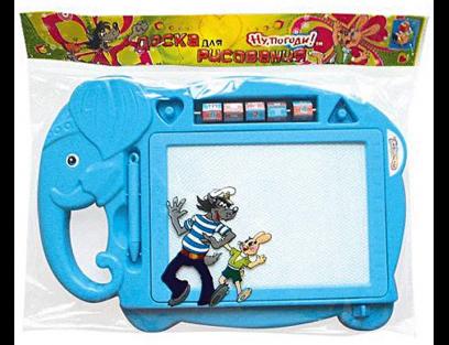 Магнитная доска 1Toy Ну Погоди магнитные доски 1toy развивающая игрушка ну погоди