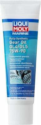 Cинтетическое трансмиссионное масло LiquiMoly Marine Fully Synthetic Gear Oil 75W90 0.25 л 25037 редукторное масло universal 75w 90 синтетическое 1 л