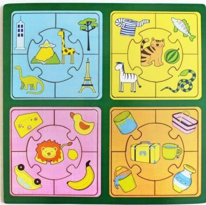 Купить Развивающая игрушка: Пазл большой Признаки , Мастер игрушек, Развивающие центры для малышей