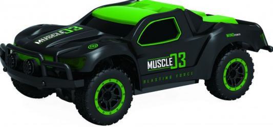 Машинка на радиоуправлении 1toy Раллийная машина пластик, металл зелёный