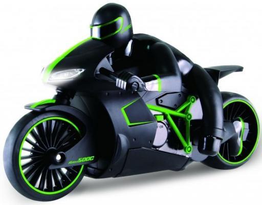 Мотоцикл на радиоуправлении 1toy Мотоцикл с гонщиком пластик зелёный кулоны подвески медальоны sokolov 89030018 s