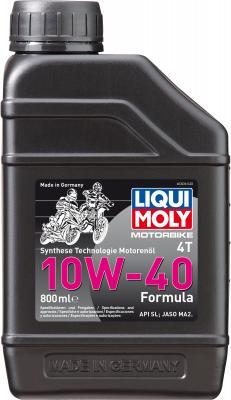 НС-синтетическое моторное масло LiquiMoly Motorbike 4T Formula 10W40 0.8 л 3036