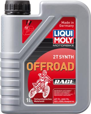 Cинтетическое моторное масло LiquiMoly Motorbike 2T Synth Offroad Race 1 л 3063