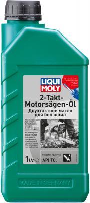 Минеральное моторное масло LiquiMoly 2-Takt-Motorsagen-Oil (для 2-тактных бензопил и газонокосилок) 8035
