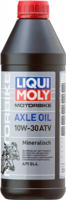 Минеральное трансмиссионное масло LiquiMoly Axle Oil ATV 10W30 1 л 3094 минеральное трансмиссионное масло liquimoly traktoroil utto 10w30 205 л 6959