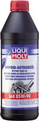 Минеральное трансмиссионное масло LiquiMoly Hypoid-Getriebeoil 85W90 1 л 1956 масло трансмиссионное минеральное sae 80w 90 api gl 5 1 л dde m sae80w 90