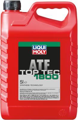НС-синтетическое трансмиссионное масло LiquiMoly Top Tec ATF 1800 5 л 20662 жидкость трансмиссионная nissan atf matic d синтетическое 1 л