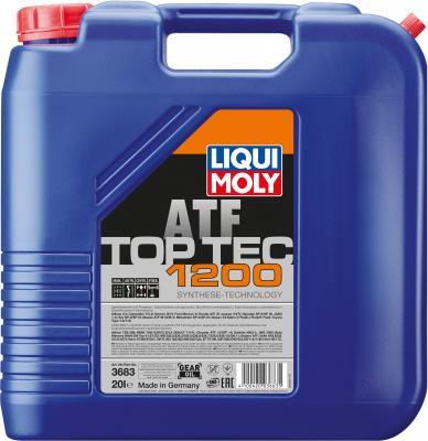 НС-синтетическое трансмиссионное масло LiquiMoly Top Tec ATF 1200 20 л 3683 aegismax sp iii