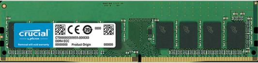Оперативная память 16Gb (1x16Gb) PC4-21300 2666MHz DDR4 DIMM ECC CL19 Crucial CT16G4WFD8266