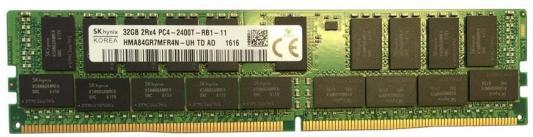 Оперативная память 32Gb PC4-19200 2400MHz DDR4 DIMM Hynix HMA84GR7MFR4N-UHTD оперативная память dimm ddr2 1gb pc2 6400 800mhz hynix