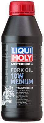 7599 LiquiMoly Синт. масло д/вилок и амортиз. Motorbike Fork Oil Medium 10W (0,5л) цена