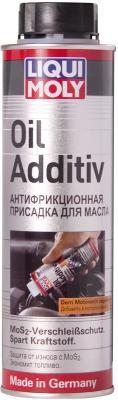 Присадка в моторное масло LiquiMoly Oil Additiv с дисульфидом молибдена (антифрикционная) 1998 присадка для масла актив дизель suprotec 121151