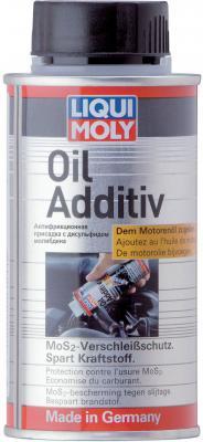 в моторное масло LiquiMoly Oil Additiv с дисульфидом молибдена (антифрикционная) 3901