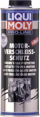 в моторное масло LiquiMoly Pro-Line Motor-Verschleiss-Schutz с дисульфидом молибдена (антифрикционная) 5197