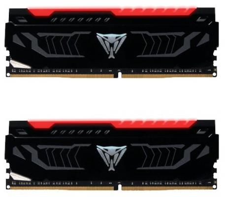 Оперативная память 16Gb (2x8Gb) PC4-19200 2400MHz DDR4 DIMM Patriot PVLR416G240C4K цена и фото
