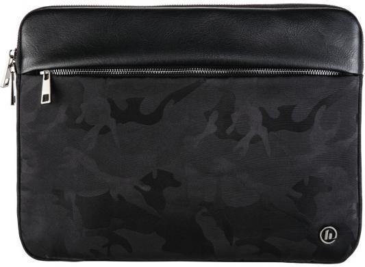 Чехол для ноутбука 13.3 HAMA Mission Camo полиэстер полиуретан черный камуфляж 00101596 рюкзак для ноутбука 14 hama mission полиэстер полиуретан черный золотистый 00101588