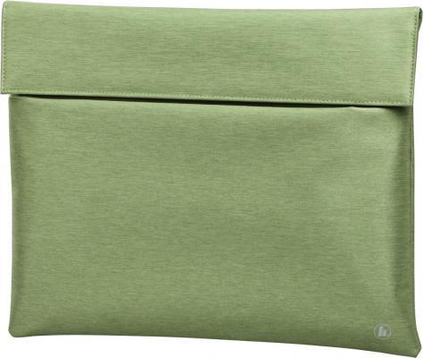 """Чехол для ноутбука 13.3"""" HAMA """"Slide"""" ткань зеленый 00101732"""