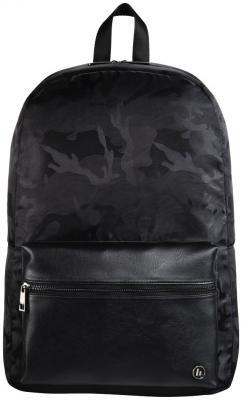 Рюкзак для ноутбука 15.6 HAMA Mission Camo полиэстер полиуретан черный камуфляж 00101599 рюкзак для ноутбука 14 hama mission полиэстер полиуретан черный золотистый 00101588
