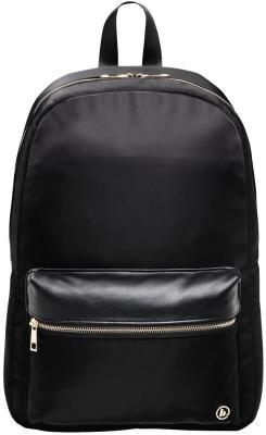 Рюкзак для ноутбука 15.6 HAMA Mission полиэстер полиуретан черный золотистый 00101589 рюкзак hama sweet owl pink blue