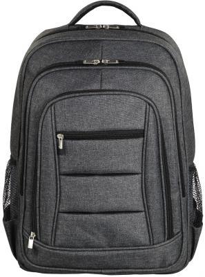 Рюкзак для ноутбука 15.6 HAMA Business полиэстер серый 00101578 рюкзак с отделением для ноутбука hama all out louth forest check 26 л зеленый серый 00129219