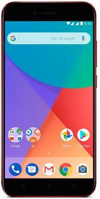 Смартфон Xiaomi MI A1 красный 5.5 64 Гб LTE Wi-Fi GPS 3G 4G MIA1RD64GB