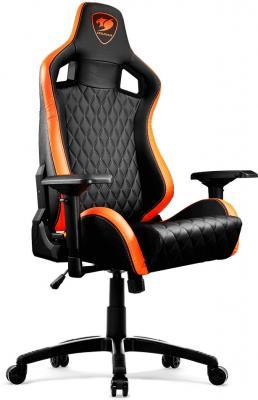 Кресло компьютерное игровое Cougar Armor S черный оранжевый