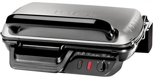 Электрогриль Tefal GC600010 серебристый чёрный