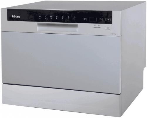 Посудомоечная машина Korting KDF 2050 S серебристый цена и фото