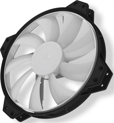 Вентилятор Cooler Master MF200R RGB LED Fan R4-200R-08FC-R1 200x200x25mm 800rpm msi n460gtx n560gtx v5 graphics video card cooling fan pld08010s12hh dc 12v 0 35a 4pin dual cooler fans