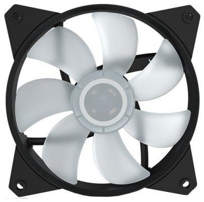 Вентилятор Cooler Master MF121L RGB LED Fan R4-C1DS-12FC-R2 120x120x25mm 1200rpm вентилятор cooler master mf200r rgb led fan r4 200r 08fc r1 200x200x25mm 800rpm