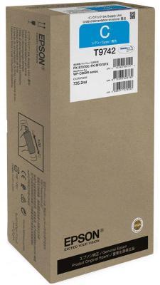 Картридж Epson C13T974200 для Epson WF-C869R голубой картридж epson t009402 для epson st photo 900 1270 1290 color 2 pack