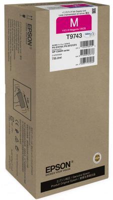 Картридж Epson C13T974300 для Epson WF-C869R пурпурный картридж epson t009402 для epson st photo 900 1270 1290 color 2 pack