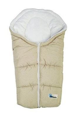 Зимний конверт Altabebe Alpin Pram & Car seat (AL2009P/beige-whitewash) конверт детский altabebe altabebe конверт в коляску зимний alpin pram